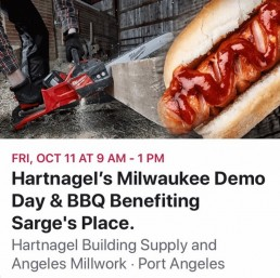 Hartnagel's Milwaukee Demo hosts benefit for Sarge's Veteran Support