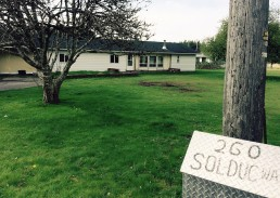 Camp Sol Duc permanent housing for Veterans in Wa state