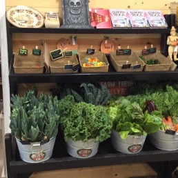 Fresh, seasonal produce at Sarge's Farmstand in Forks, Wa