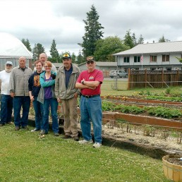 Some of the crew behind Sarge's Farmstand in Forks, Wa (photo: Zorin Barker)